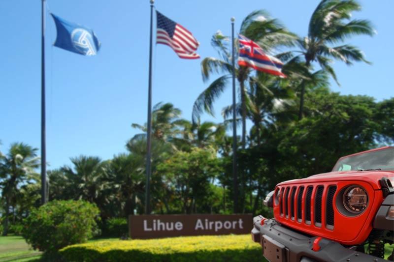 Kauai Airport Map Kauai Jeeps