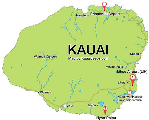 Types Of Jeeps >> Kauai Jeep Rental Locations   Kauai Jeeps